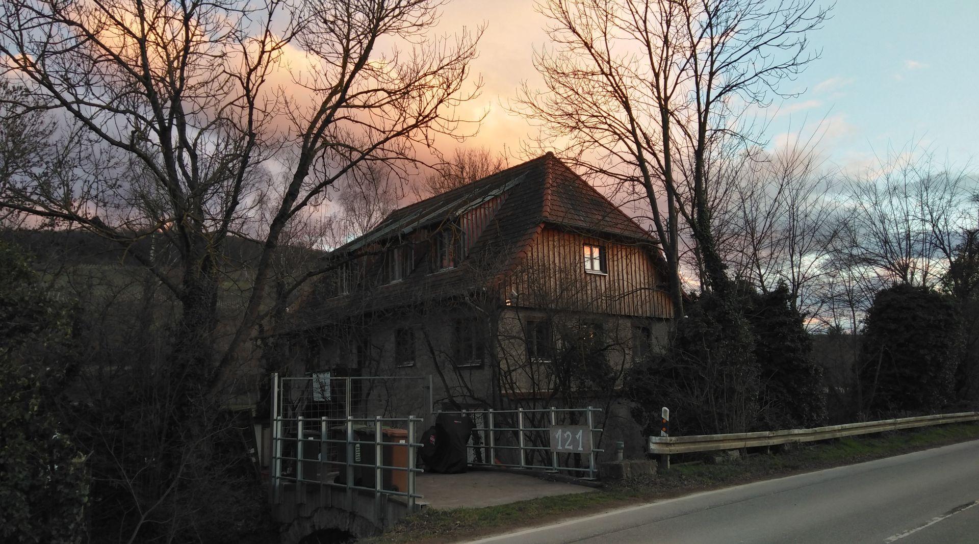 Ölmühle Freiburg - Aussenansicht